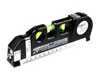 Wholesale Vertical Horizon - Wholesale-New Multipurpose Laser Level Horizon Vertical Measure Tape Aligner 8FT HT8966 Free Drop shipping