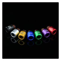 Wholesale vip drip tip resale online - Newest drip tips VIP design Mouthpiece VIP Drip Tip for e cigs Driptips for RTA RBA RDA Atomizers DHL free