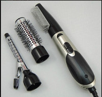Wholesale 800 w multi function electric hair dryer rollers High power constant temperature of cold and hot wind curling iron Electric hair comb