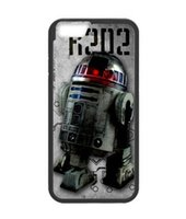 Wholesale Star Mini S4 - Retro Star Wars R2D2 cell phone case for iPhone 4 5s 5c 6 6s Plus ipod touch 4 5 6 Samsung Galaxy s2 s3 s4 s5 mini s6 edge plus Note 2 3 4 5