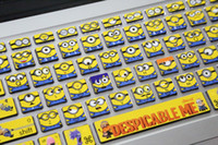 Wholesale Keyboard Skin For Laptops - Minions-Laptop Skin Decals for Macbook Pro Keyboard macbook sticker macbook decals