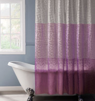 Wholesale PEVA D translucence waterproof shower curtains D splice curtains cm cm