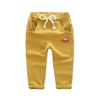 Wholesale Girls Clothing Manufacturers - Wholesale-Autumn Korean boy pants 2015 new autumn children's clothing cotton baby pants boy pants wholesale manufacturers