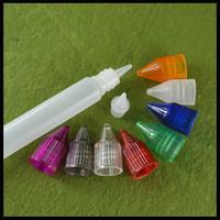 Wholesale Squeeze Dropper Bottles - Unicorn Bottle 30ml PE E Liquid Bottle With Soft Squeeze And Needle Tip Dropper Plastic Ejuice Bottle