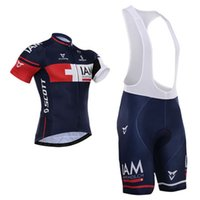 Wholesale iam cycling online - New arrive iam Pro team Cycling Jersey Bib Short Pants With Gel Pad Ropa de Ciclismo Maillot Bike Wear Cycling Clothing Set