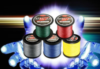 Wholesale Red Braided Fishing Line - HOT!Free shipping Super Strong Japanese 300m Multifilament PE Braided Fishing Line 12 20 30 40 50 60 80 LB