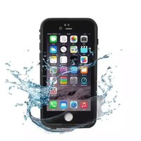 Wholesale I Phone Casing - Hight quality Waterproof phone case For iPhone 6 7 6s 7s Plus life Water proof case Shockproof Dirt Proof phone Cases for i phone 6G cover