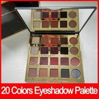 Wholesale Eyeshadow Palette Fashion Cosmetics - Fashion Eye cosmetic 20 Colors Eyeshadow palette in Bloom Clay Palette Eye Shadow By EyeShadow Palette high performance naturals
