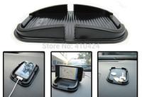 anti-rutsch-strecke großhandel-(5 teile / los) Schwarz Multifunktions Gummi Anti-Rutsch-Matte Auto Armaturenbrett Anti-Rutsch-Matte Magic Sticky Pad für iPhone PDA MP3 / 4 Auftrag $ 18no Track