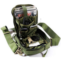 Wholesale army acu - Wholesale-ROCO EDC Molle Tactical Single Shoulder Messenger Neatfreak Versipack Tactical Purse Neatfreak Organizer ACU CP