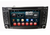 Wholesale Dvd 3g Touareg - Pure android 4.4 capacitive screen car dvd cd multimedia player built in radio rds wifi 3g radio fit volkswagen old touareg