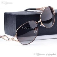 Wholesale Drop Sunglasses - Hot Sale!Summer New Women Fashion Brand Designer Polarizer Lady Outdoor Gradual Change Color Sunglasses 4 Color Drop Shipping