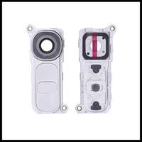 lentille bouton achat en gros de-Nouveau Original Pour LG G4 H810 H811 H815 F500 Arrière Arrière Lentille De La Caméra Big Camera Lens Lentille Couverture Avec Cadre Avec Bouton Remplacement