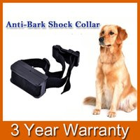 Wholesale Anti Bark Collar Vibrate - Automatic Anti Bark No Barking Training Shock Vibrate Collar for Small Medium Dog order<$18no track