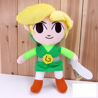 """Wholesale Global Movies - The Legend of Zelda 20pcs Global Holdings Zelda Plush Toys 7"""" inch 18cm Children's Birthday Party Gifts and Toys"""