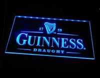 Wholesale Vintage Disco Lights - b-09 Guinness Vintage Logos Beer Bar LED Neon Light Sign