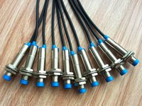 Wholesale Switching Transducer - 10PCS New PanlongIC LJ12A3-4-Z BY Inductive Proximity Sensor Switch PNP DC6-36V NO Normally Open High Quality Free Shipping