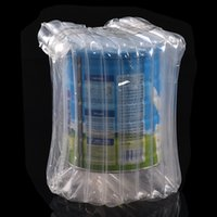 Wholesale package air bags resale online - milk column bag inflatable bubble packaging bag Air Column Shockproof Plastic Packaging Bags Celebration Wedding Party Bags UM OVER THICK