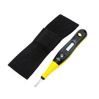 Wholesale Digital Ac Dc Voltage - Multi-functional Digital Test Pencil AC DC 12-220V Electric Voltage Tester Pen Detector with LED Voltage Display