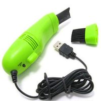 Wholesale Printer Computers - USB Vacuum Keyboard Cleaner Brush For PC Laptop Computer Air Fans Cleaning Brush for Printer Camera Audio-visual Office Electronic Equipment