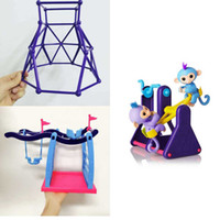 Wholesale Fitness Big - Interactive Fingerlings Monkey Climbing frame jungle gym Finger Monkey Stent Fitness rack as gifts Christmas gift for children