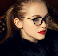 Wholesale Vintage Brand Design Eyeglass Eyewear Frames eye glasses frames for women Ladies plain mirror Glasses Women spectacle frame
