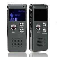 Wholesale Mini Mp3 Digital Voice Recorder - 8GB Brand Spy Mini USB Flash Digital Audio Voice Recorder 650Hr Dictaphone MP3 Player Grey Pen Drive Grabadora Gravador de voz