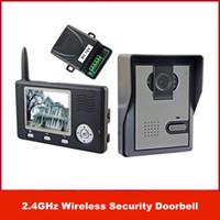 kostenlose video türsprechanlage großhandel-Neue Marke 2,4 GHz Wireless 3,5