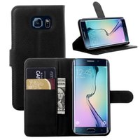 Housse en cuir pour Samsung Galaxy bord S6 A3 A5 Titulaire G360 Card Design de Stands Wallet COUVERTURE homme d'affaires mobile Bag Phone