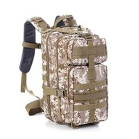 Wholesale Freight Bags - Hiking Camping Bag Army Military Tactical Trekking Rucksack Outdoor Sports Camouflage Bag Military Tactical Backpack Free freight