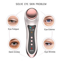 Wholesale device eye dark circles - Tamax Eye Massager for Dark Circles and Puffiness Skin Tightening Hot Cold hammer Anti-ageing Wrinkle Device