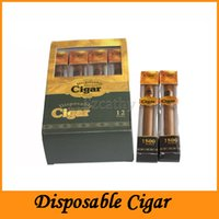 Wholesale Disposable Electronic Cig - New Disposable Cigar 1800 Puffs Electronic Cigarette E Cigars No.1 E Cig Vapor Powerful Cigarettes Better Than Shisha E Hookah Disposaba