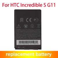 Wholesale Incredible S G11 - Hot Selling Replacement Mobile Phone HTC BG32100 Battery For HTC G11 Incredible S Battery Accu Akku 1450mAh 35H0015-01M