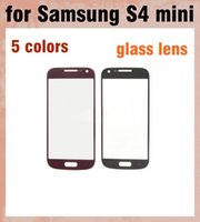 Wholesale replacement glass galaxy s4 - Outer Glass Screen Lens Touch Screen LCD Cover Front Glass Screen Lens Replacement digitizer For Samsung Galaxy S4 Mini i9190 S5 SNP013
