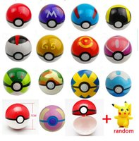 PokeBall Fairy Super pungente Ball ABS azione Anime Figure Figura pikachu 7cm Bambini Bambini Giocattoli Cosplay Pop-up Master Grande Ultra GS Regalo