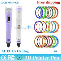 Wholesale Imprinted Pens - 2015 New Arrival The World's First & Best custom imprinted pens Display Screen With 20 Color 5M ABS Filament Free Shipping order<$18no track