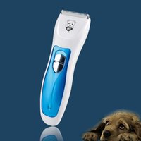 Kit Professional Pet Home Rechargeable Pet Hair Trimmer Clipper pour Chiens Chats avec 4 réglable Peignes