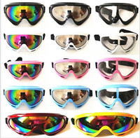 Wholesale Sunglasses Snowboard - HOT Motorcycle Dustproof Ski Snowboard Sunglasses Goggles Lens Frame Eye Glasses more stock free shipping