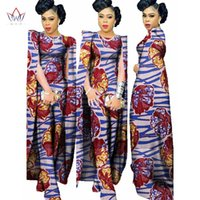 Wholesale Complete Clothes - 2018 Complete Bodysuit African Women Clothing Jumpsuit Women Private Custom Plus Size Women Clothes Unique Original Complete Bodysuit WY102