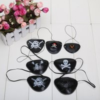 Wholesale Cyclops Eye Patch - Halloween masquerade pirate accessories pirate eye patch Cyclops eye patch