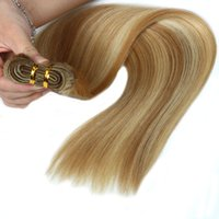 ELIBESS Hair -#P27 613 Straight Wave 14 to 24 Inches 120g Per Piece Machine Remy Hair Bundles Hair Weaves