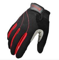 Wholesale Wearing Baseball Glove - Autumn New Bike Gloves Slip Breathable Wear Bike Outdoor Full Finger Gloves Unisex Sports Riding Gloves Autumn New Bike Gloves