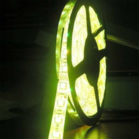 Wholesale White Led Flat Rope Lighting - IP20 and IP65 Led strip SMD 5050 3528 Led rubber strip DC12V 5M roll Led flexible Led rope non-waterproof indoor lighting