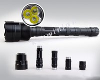 Wholesale Trustfire Wholesale - Trustfire TR-3T6 LED Flashlights 3800 LM Tactical Flashlights Waterproof Cree Torch Lights For Camping Fishing with Retail Package