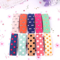 Wholesale-2015 Real Curmer de promoção para cor de cabelo Dots Bb Clip Coréia Moda All-match Cloth Toque Ajustador Japan And South Is Sweet