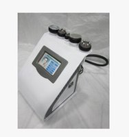 Wholesale Portable Cavitation Ultrasonic Weight Loss - 5 in 1 portable vacuum ultrasonic liposuction cavitation slimming machine RF radio frequency fat weight loss home salon use