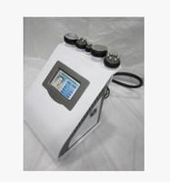 Wholesale Portable Liposuction Cavitation Slimming Machine - 5 in 1 portable vacuum ultrasonic liposuction cavitation slimming machine RF radio frequency fat weight loss home salon use