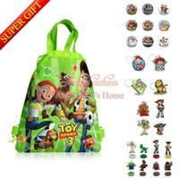 Wholesale Kids Novelty Backpacks - Novelty Toy story Stand Dolls,Kids Backpacks,2D Keychains,Magnets Stickers Five in One Super Gifts Christmas new year party gift