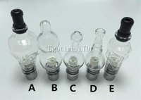 Wholesale Dct Glass - 5 Style Glass Globe Atomizer Tank Wax And Herb Vaporizer coil head Replacement Ceramic Coils Gourd Bulb Tub Vapor Wax DCT Cannon Aomizer