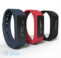 I5 Plus Smart Bracelet Bluetooth 4.0 impermeável Touch Screen Fitness Tracker Health Wristband Sleep Monitor Smart Watch